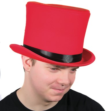 Red Bell Topper Hat