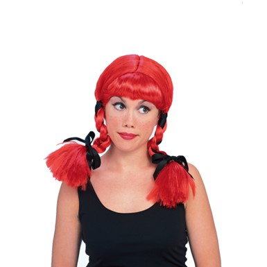 Red Country Girl Wig - Womens