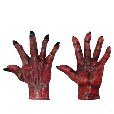 Red Evil Hands Accessory