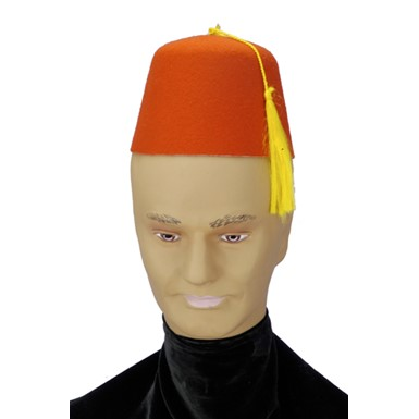 Red Felt Fez Shriners Middle Eastern Costumes Hats