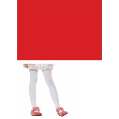 Red Opaque Stockings for Child Costumes