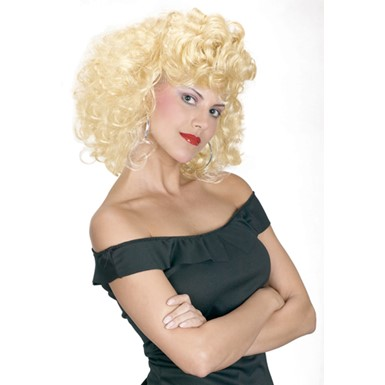 Sandy's Cool Grease 50's Adult Wig for Costume