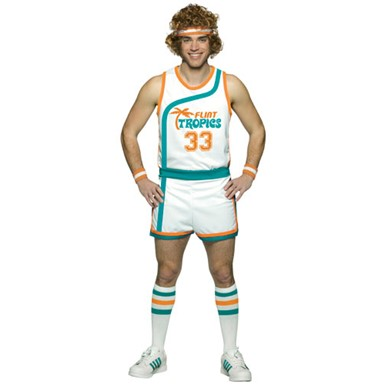 Semi-Pro Uniform Jackie Moon Halloween Costume L/XL
