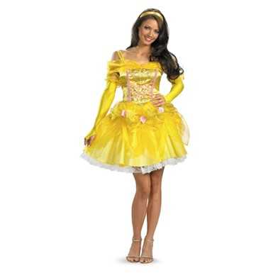 Sexy Beauty And The Beast Belle Costume