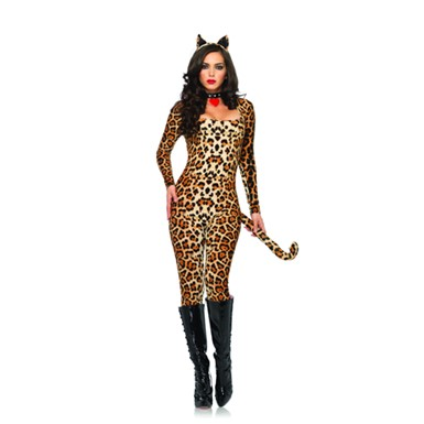 Sexy Cougar Costume - Womens