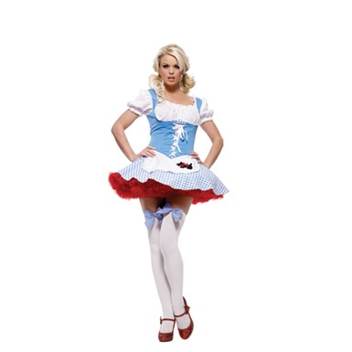 Sexy Dorothy Girl Halloween Costume