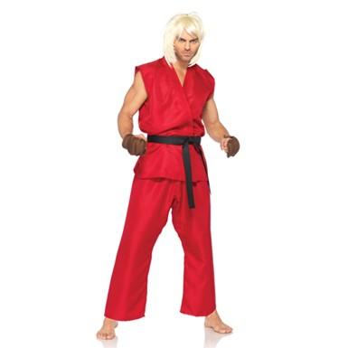 Sexy Ken Street Fighter Costume - Mens Halloween Costume