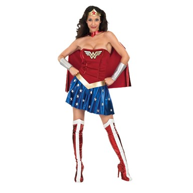 Sexy Wonder Woman Halloween Costume Adult