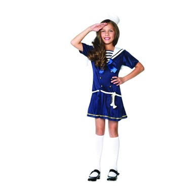 Shipmate Cutie Girls Child Sailor Halloween Costume