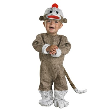Sock Monkey Costume - Infant