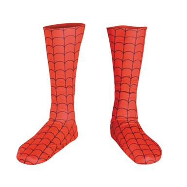 Spider Man Boot Covers - Adult