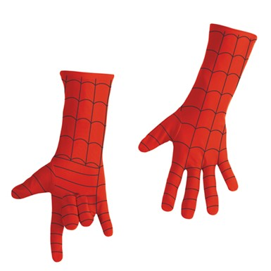 Spiderman Gloves - Deluxe Adult