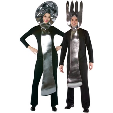 Spoon And Fork Costume Set