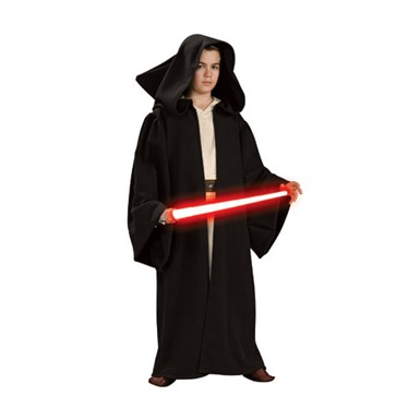 Star Wars Deluxe Sith Child Hooded Robe Costume
