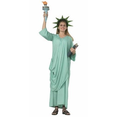 Statue of Liberty Adult Standard Size Costume 12