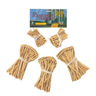 Straw Kit for Scarecrow Wizard of Oz Halloween Costume