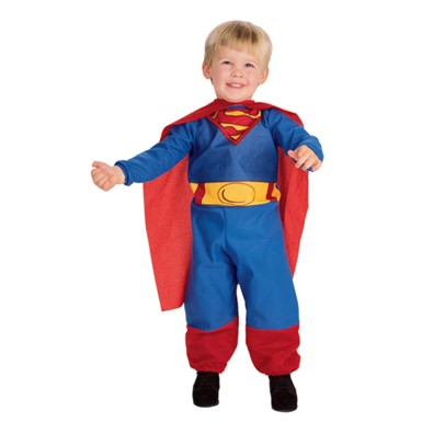 Superman Soft & Cuddly Infant/Toddler Costume