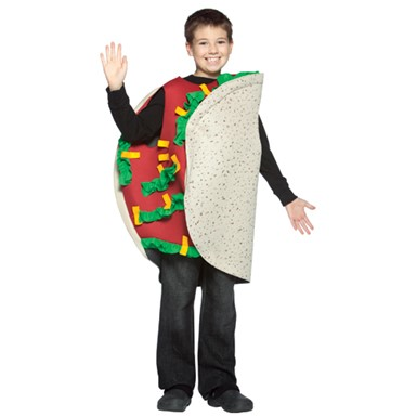 Taco Halloween Costume - Kids