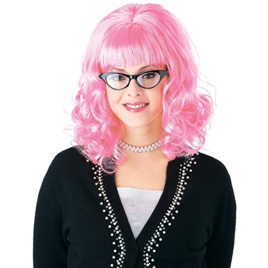 Teaser Womens Pink Lady Wig