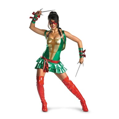 Teenage Mutant Ninja Turtles Costume - Womens