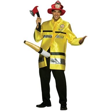 The Fire Extinguisher Costume - Mens