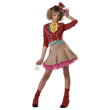 The Mad Hatter Teen Girls Halloween Costume