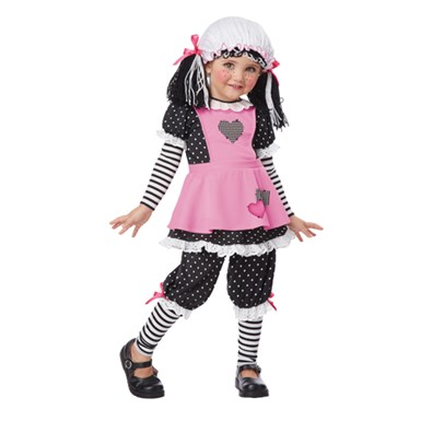 Toddler Baby Doll Costume