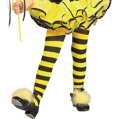 Toddler Bumble Bee Tights