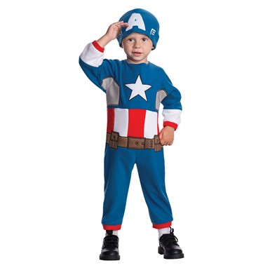 Toddler Captain America Halloween Costume Size 2T-4T