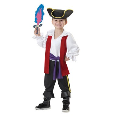 Toddler Captain Feathersword Costume
