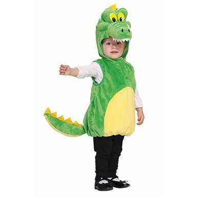 Toddler Cuddly Crocodile Halloween Costume Size 2T-4T