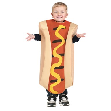 Toddler Cute Hot Dog Costume