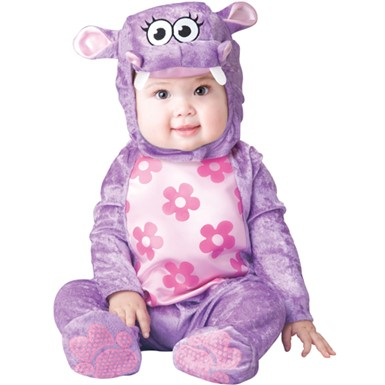 Toddler Cutie Hippo Costume