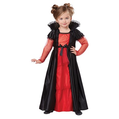 Toddler Cutie Vampire Girl Halloween Costume