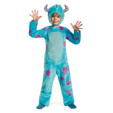 Toddler Deluxe Monsters Inc Sulley Costume