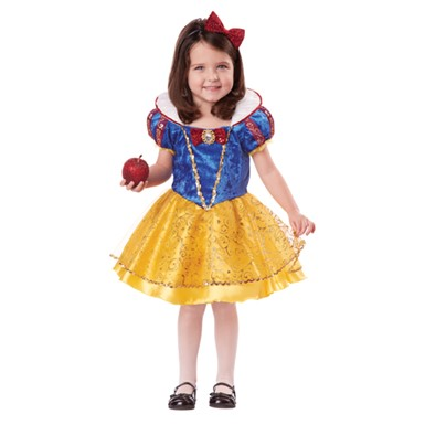 Toddler Deluxe Snow White Costume