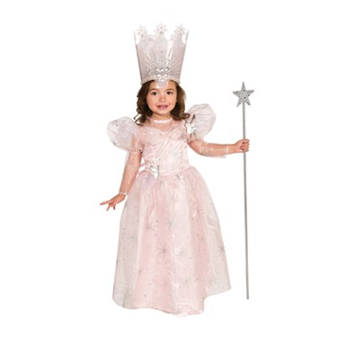 Toddler Glinda The Good Witch Halloween Costume size 2T-4T