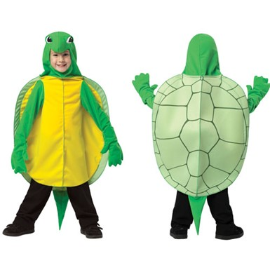 Toddler Green Turtle Costume
