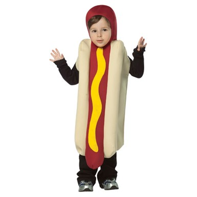 Toddler Hot Dog Halloween Funny Food Costume