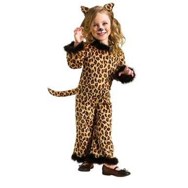 Toddler Kitten Pretty Leopard Costume