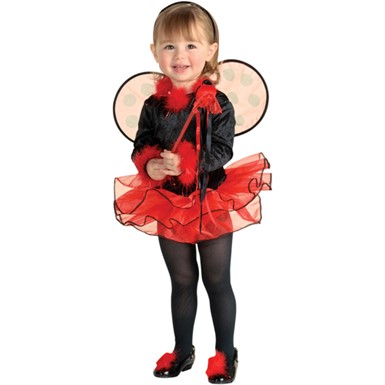 Toddler Lady Bug Halloween Costume