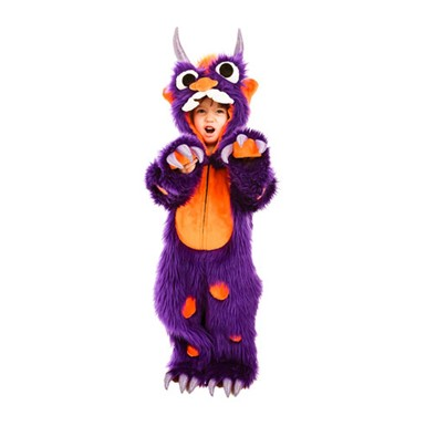 Toddler Morris Purple Monster Costume