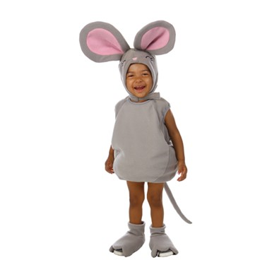 Toddler Nibbles the Mouse Costume