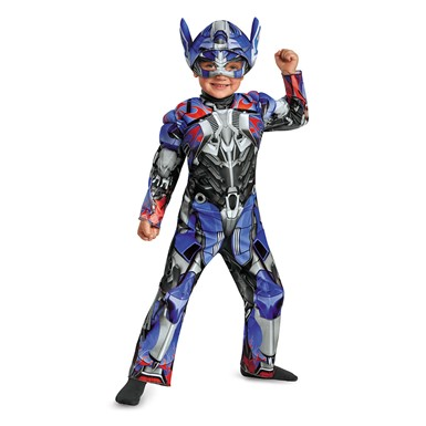 Toddler Optimus Prime Muscle Halloween Costume