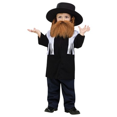 Toddler Rabbi Halloween Costume