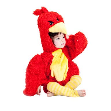 Toddler Red Grumpy Bird Costume