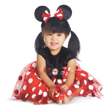 Toddler Red Minnie Mouse Costume