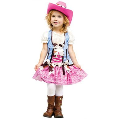 Toddler Rodeo Sweetie Cowgirl Halloween Costume