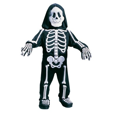 Toddler Skeleton Costume - Totally Skelebones