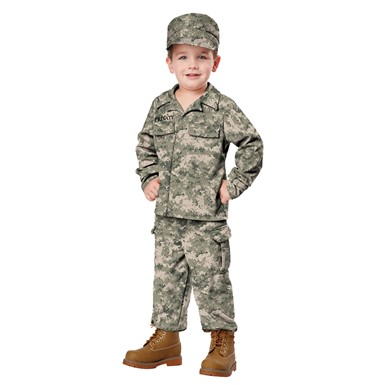 Toddler Soldier Costume